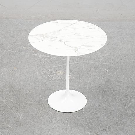 Eero saarinen, a marble top 'tulip' table, knoll studio.