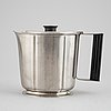 Eight stainless steal pieces to the 'thebe' cutlry/dining service, folke arström, gense, 1950's/60's.