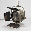 "A mole-richardson ""sputnik"" studio light, 1950s."