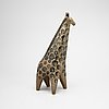 A soneware figurine, giraff, by lisa larson, from the series 'stora zoo', gustavsberg.