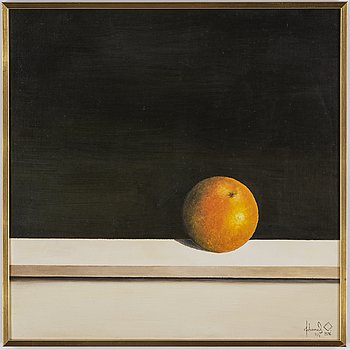 Johannes Olsson, oil on canvas, signed and dated 2/2 1976.