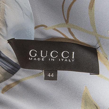 A gucci/frida giannini silk dress size 42.