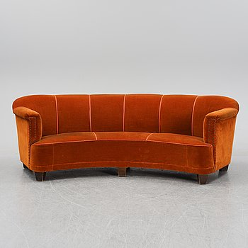 Otto Schulz, attributed to, a Swedish Modern sofa, 1940s.