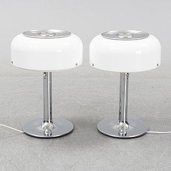Anders Pehrson, a pair of table lamps, model 'Knubbling', Atelje Lyktan Åhus.