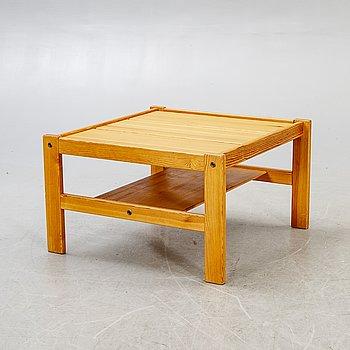 An Yngve Ekström 1970s pine coffee table,
