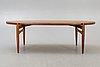 A johannes andersen 1960s trensum teak coffee table.