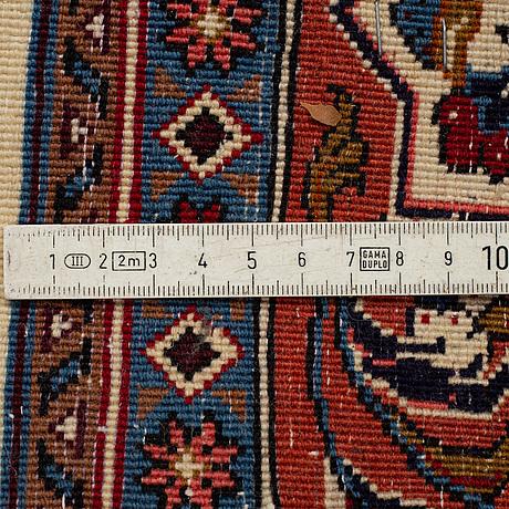 Rug, moud, probably, 197 x 132 cm.