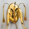 Paavo tynell, a pair of wall sconces, model 7252, taito 1930s.