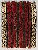 Helena koskivaara, a finnish long pile rug for wetterhoff. circa 125x90 cm.