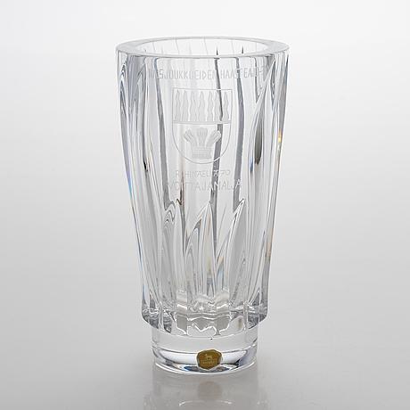 """Aimo okkolin, maljakko, lasia, """"liekki"""", riihimäen lasi."""