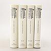 """Böcker, 4 vol, """"picasso in his posters"""", luis carols rodrigos arte ediciones, barcelona, 1992."""