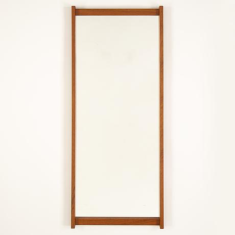 A 1960's 'schlager'  teak mirror from fröseke, ab nybrofabriken.
