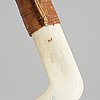 Nikolaus fankki, a reindeer horn sami knife, signed.