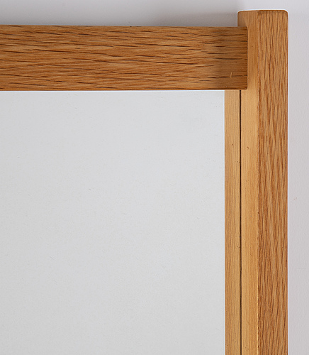 A 'schlager' mirror from fröseke, second half of the 20th century.