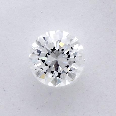 Brilliant-cut diamond, 0,47 ct d if, igi cerificate f2e25024, 1996.
