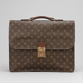 Louis Vuitton, monogram canvas briefcase, 1970's.