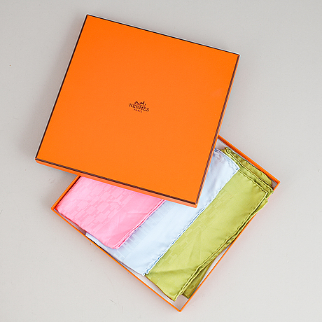 Hermès, pochetter, 3 st.