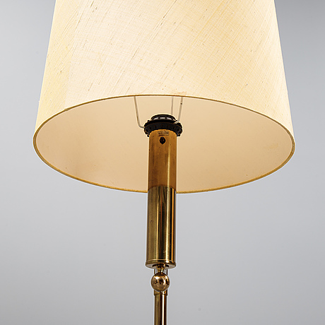A pair of brass ceiling lights from bergboms, second half of the 20th century.