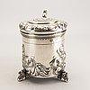 A swedish 20th century silver tankard nark of cg hallberg stockholm 1949 weight 1120 gr.