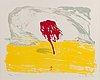 Risto suomi, lithograph, signed and dated 1986, numrerad 33/70 t.p.l'a.