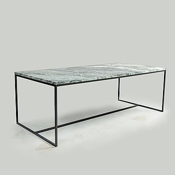A stone top dining table, Walles & Walles, 21th century.