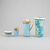 Versace for rosenthal, 4 pieces. 'ikarus russian dream' and 'arabesque'.
