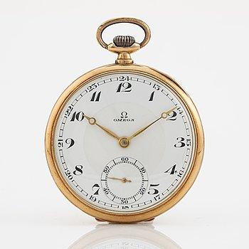 Omega, pocket watch, 49,5 mm.