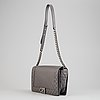 Chanel, a grey leather 'large boy bag', 2014.