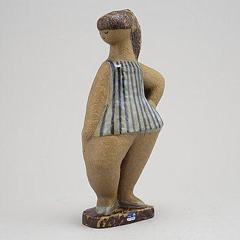 Lisa Larson, a 'Dora' stoneware figurine, Gustavsberg.