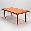 Alvar aalto, a mid 20th century 'h94' dinig table for artek.