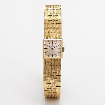 Omega, wristwatch, 14 x 14 mm.