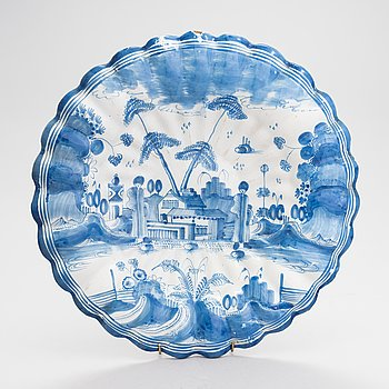 A faience bowl from Delft 18th Century.