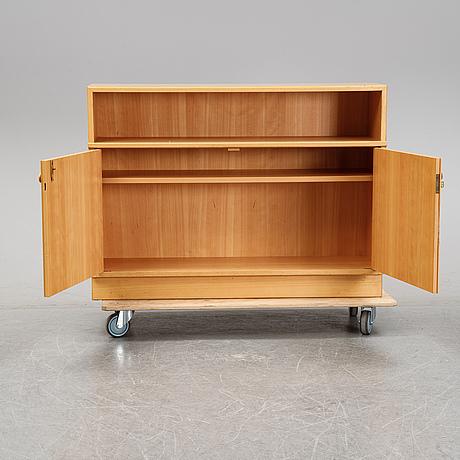 Carl malmsten, cupboard/cabinet, möbelsnickare erik johansson, second half of the 20th century.
