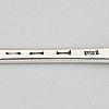 A silver serving spoon, probably walter tweedie, london circa 1770-80.
