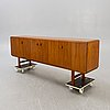 A karl erik ekselius walnut 1960s sideboard.