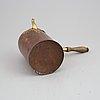 A swedish rococo coffe pot, second half of the 18th century.