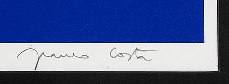 Franco costa, silkscreen in colours, signed ap 16/30.