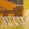 A swedish flat weave carpet sellen ingegerd silow 227x166 cm.
