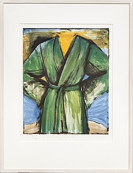 Jim Dine, lithograph in colours signed dated and numbered 1985 282/400.