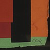 C göran karlsson, silkscreen in colours, signed 927170.