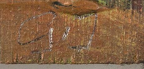 Göran johansson, oil on panel, a verso signed, dated -99.