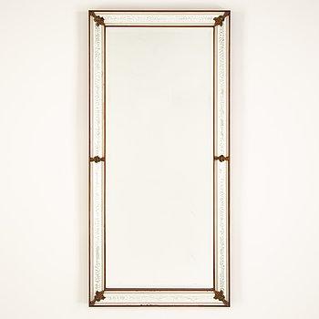 A mid 20th Century mirror from Glas & Trä, Hovmantorp, Sweden.