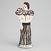 Ulrica hydman-vallien, an earthenware sculpture, signed.