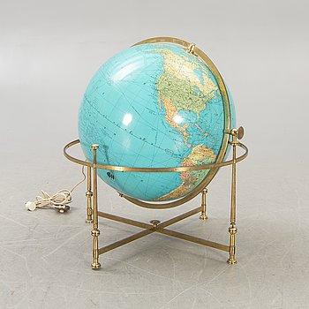 A JRO Globus 1970s floor globe.