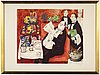 Lennart jirlow, litograph in colours, signed and numbered 46/310.