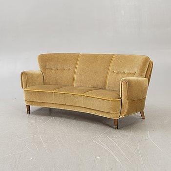 Sofa, 1940s-50s, Denmark.
