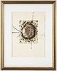 James coignard, carborundum etching, signed 58/60.