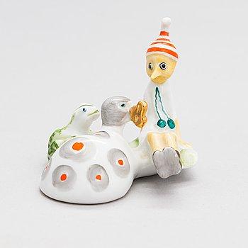 "A porcelain figurine ""Buratino"" from Lomonosov, Soviet Union, 20th century."