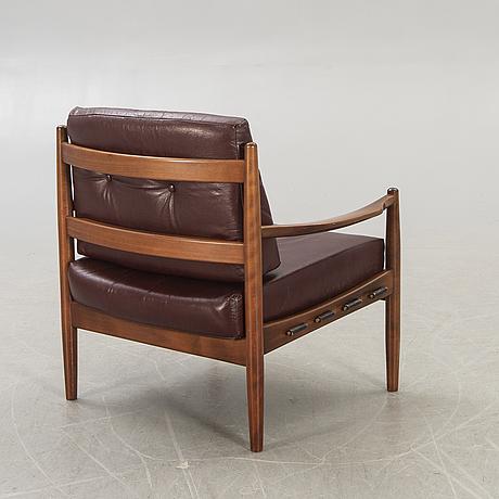 Ingemar thilmark, a läckö easy chair ope möbler later part of the 20th century.