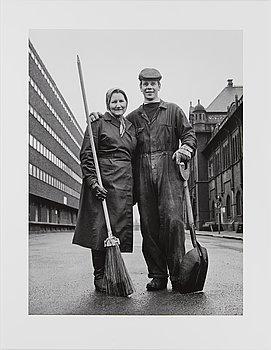 Ismo Hölttö, 'Kanavakatu 1, Helsinki 1966'.